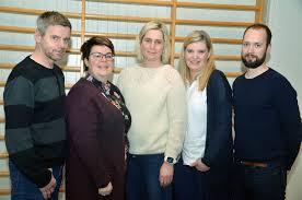 Deler av hovedstyret, Per Ivar, Hilde, Hanne, Line og Ole Bjørn